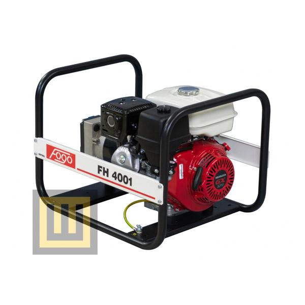 Agregat prądotwórczy FOGO FH 4001 - moc znamionowa 3,8 kW