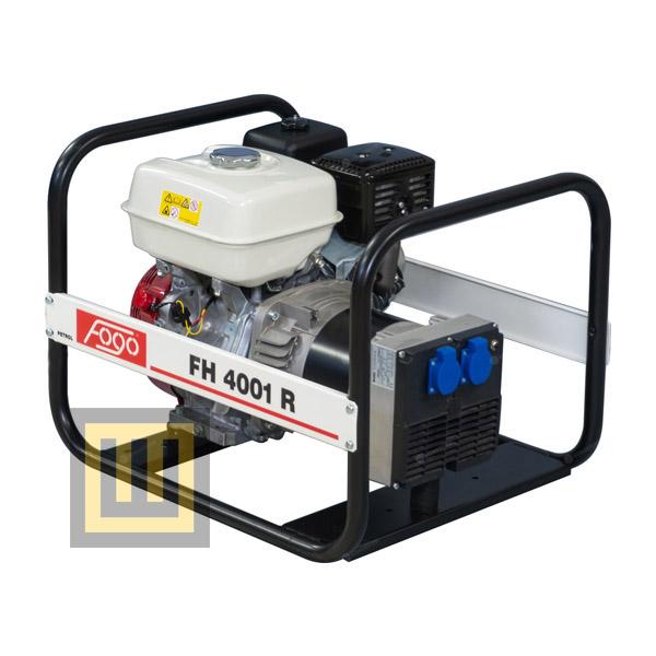 Agregat prądotwórczy FOGO FH 4001 R - moc znamionowa 3,8 kW