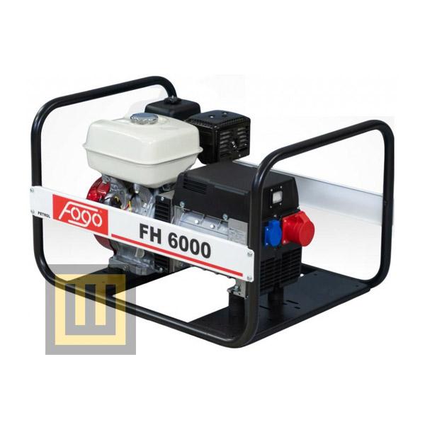 Agregat prądotwórczy FOGO FH 6000 - moc zn. 5 kVA/4 kW 3 ~ 400V