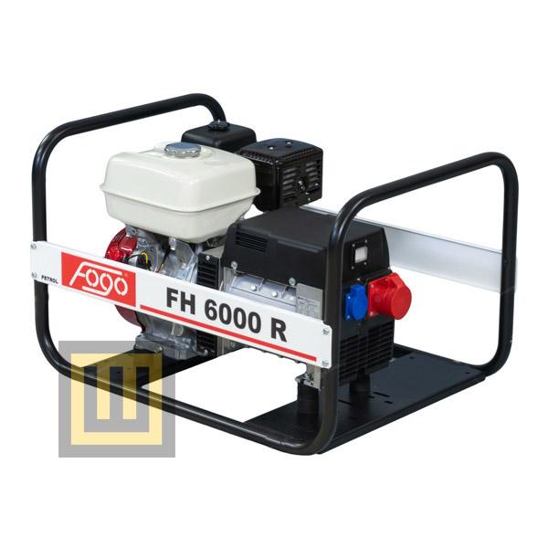 Agregat prądotwórczy FOGO FH 6000 R - moc zn. 5 kVA/4 kW 3 ~ 400V