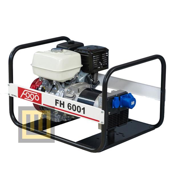 Agregat prądotwórczy FOGO FH 6001 R - moc znamionowa 5,6 kW