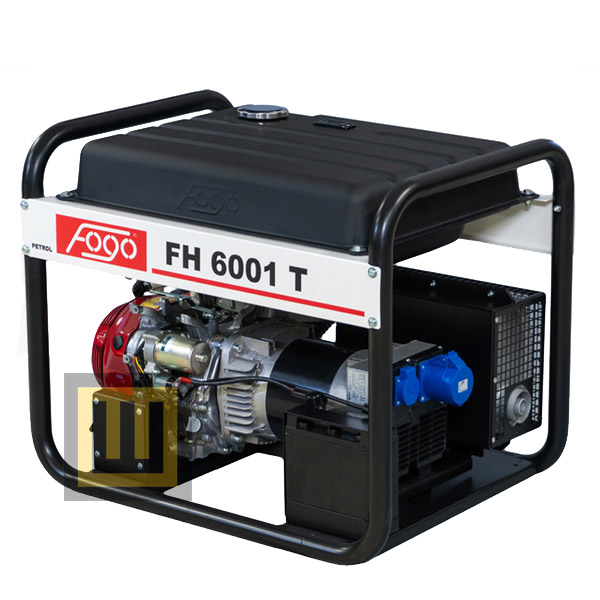 Agregat prądotwórczy FOGO FH 6001 T - moc znamionowa 5,6 kW