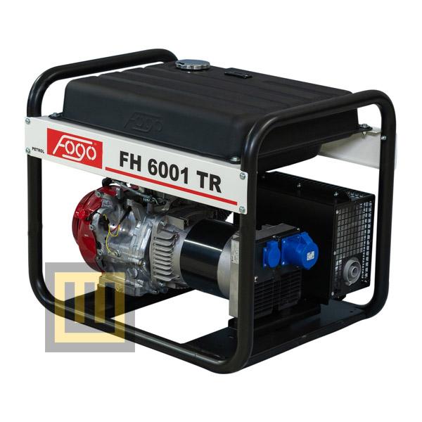 Agregat prądotwórczy FOGO FH 6001 TR - moc znamionowa 5,6 kW
