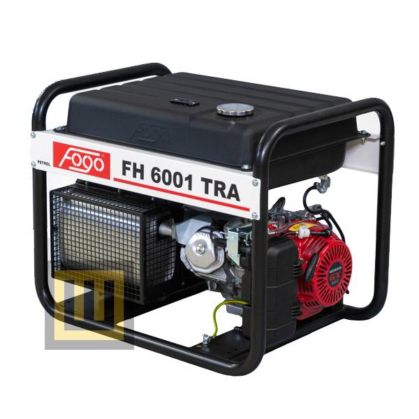 Agregat prądotwórczy FOGO FH 6001 TRA - moc znamionowa 5,6 kW