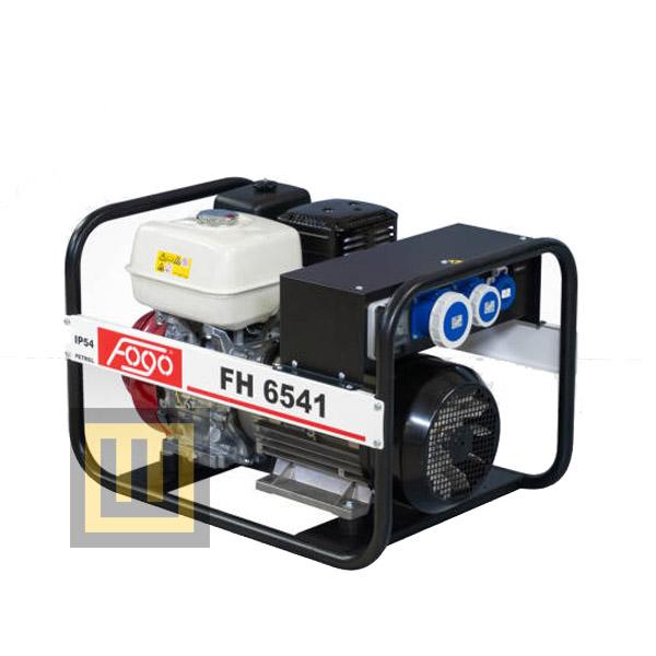 Agregat prądotwórczy FOGO FH 6541 - moc znamionwa 5,6 kW