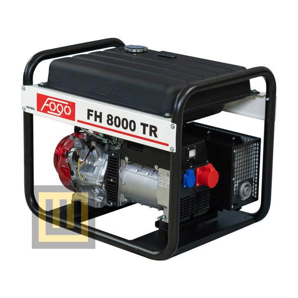 Agregat prądotwórczy FOGO FH 8000 TR - moc znamionowa 7 kVA/5,6 kW 3 ~ 400V