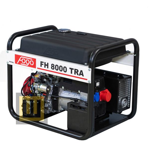 Agregat prądotwórczy FOGO FH 8000 TRA - moc znamionowa 7 kVA/5,6 kW 3 ~ 400V