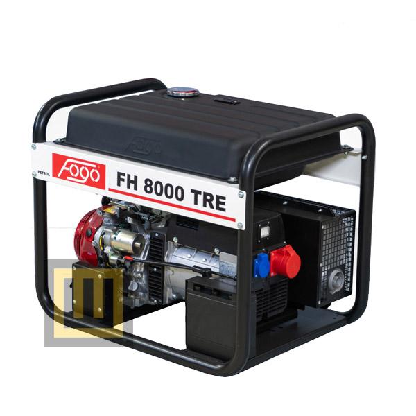 Agregat prądotwórczy FOGO FH 8000 TRE - moc znamionowa 7 kVA/5,6 kW 3 ~ 400V