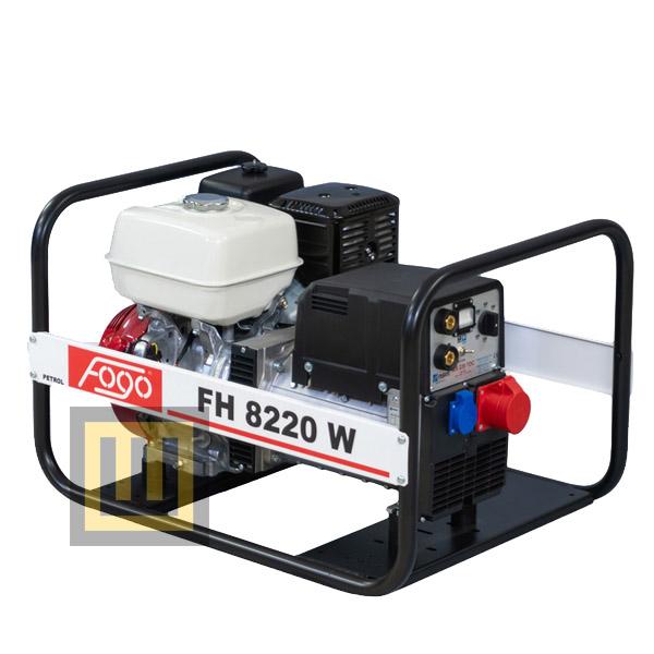Agregat prądotwórczy FOGO FH 8220 W - moc znamionowa 6,5 kVA/ 5,2 kW ~3 400V spawalniczy