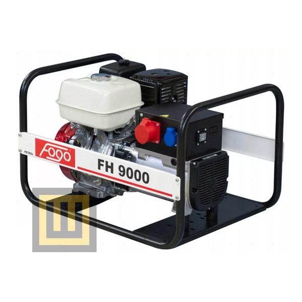 Agregat prądotwórczy Fogo FH 9000 - moc znamionowa 7,8 kVA/6,2 kW 3 ~ 400V