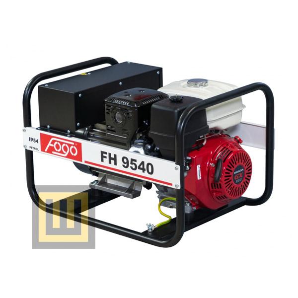 Agregat prądotwórczy FOGO FH 9540 - moc znamionowa 7,3 kVA/5,8 kW ~3 400V
