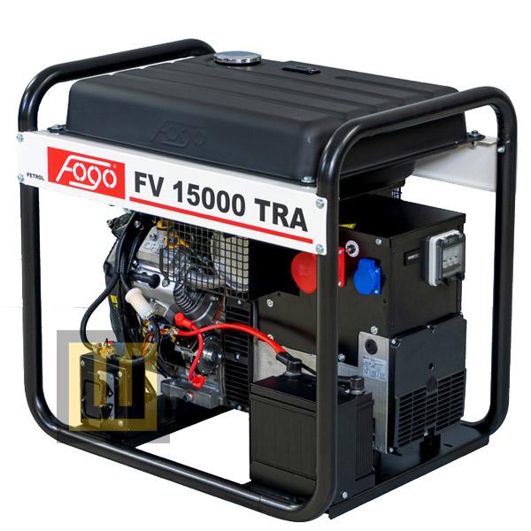 Agregat prądotwórczy FOGO FV 15000 TRA - moc znamionowa 12,5 kVA/10,0 kW ~3 400V