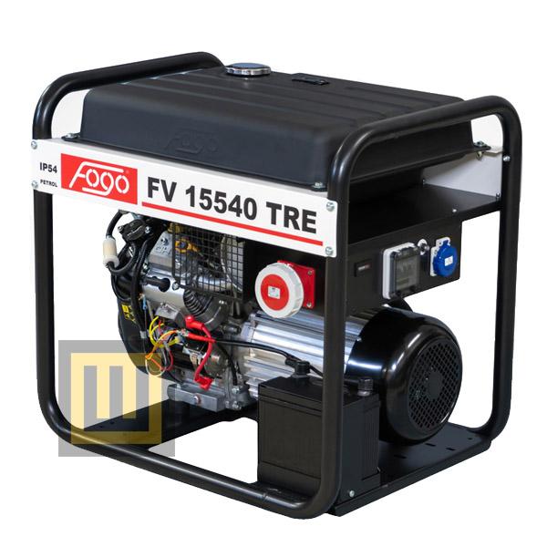 Agregat prądotwórczy FOGO FV 15540 TRE - moc znamionowa 12,5 kVA/10,0 kW ~3 400V