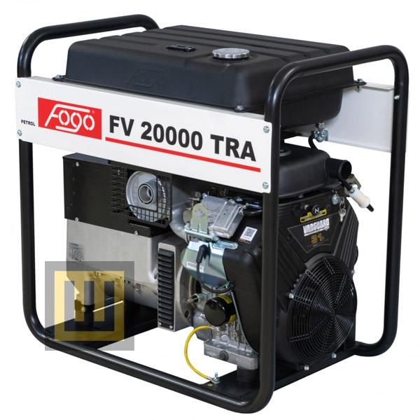 Agregat prądotwórczy FOGO FV 20000 TRA - moc znamionowa 17,5 kVA/14,0 kW ~3 400V
