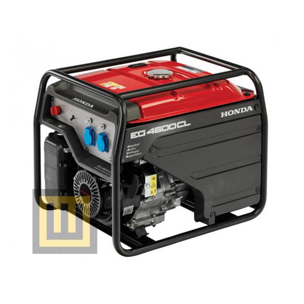 Agregat prądotwórczy HONDA EG 4500 CL - moc znamionowa 4,0 kW - z przeglądem zerowym