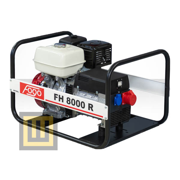 Agregat pradotwórczy FOGO FH 8000 R - moc znamionowa 7 kVA/5,6 kW 3 ~ 400V