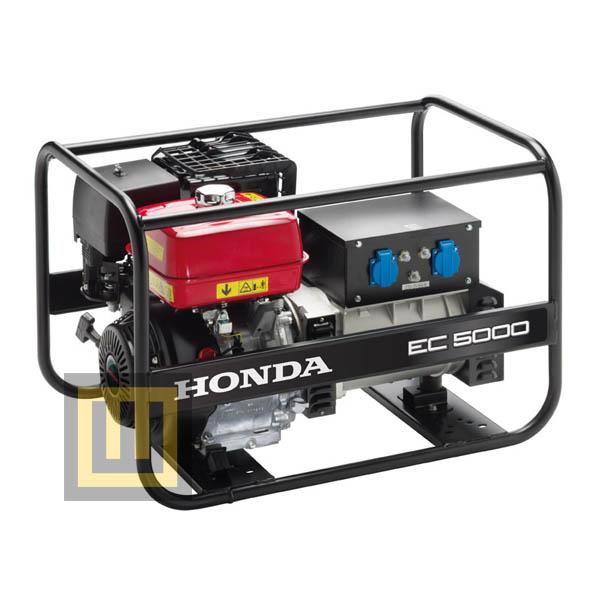 Agregat pradotwórczy HONDA EC 5000 - moc znamionowa 4,5 kW - z przegladem zerowym