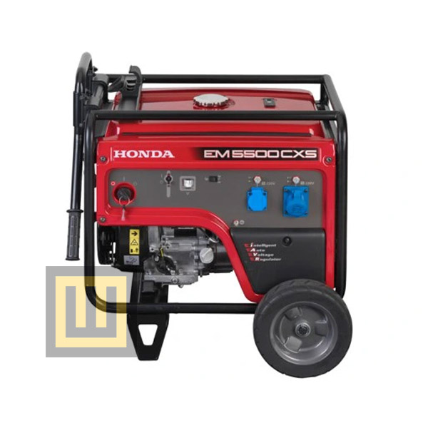 Agregat pradotwórczy HONDA EM 5500 CXS - moc znamionowa 5,0 kW - z przegladem zerowym