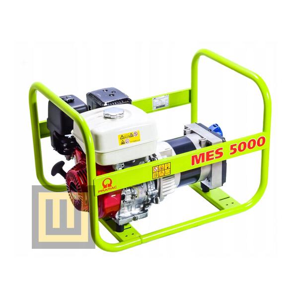 Agregat prądotwórczy PRAMAC MES5000 - moc  4,6kW