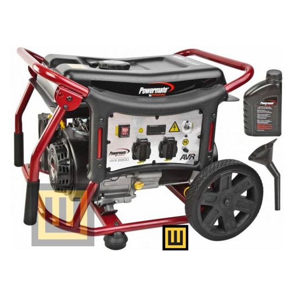 Agregat prądotwórczy POWERMATE WX 2200 - moc 2,2 kW