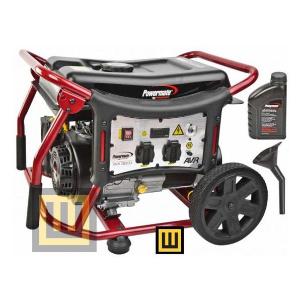 Agregat prądotwórczy POWERMATE WX 3200 - moc 2,95 kW