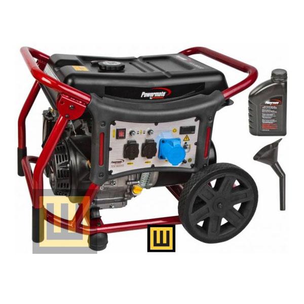 Agregat prądotwórczy POWERMATE WX 6200 - moc 5,8 kW