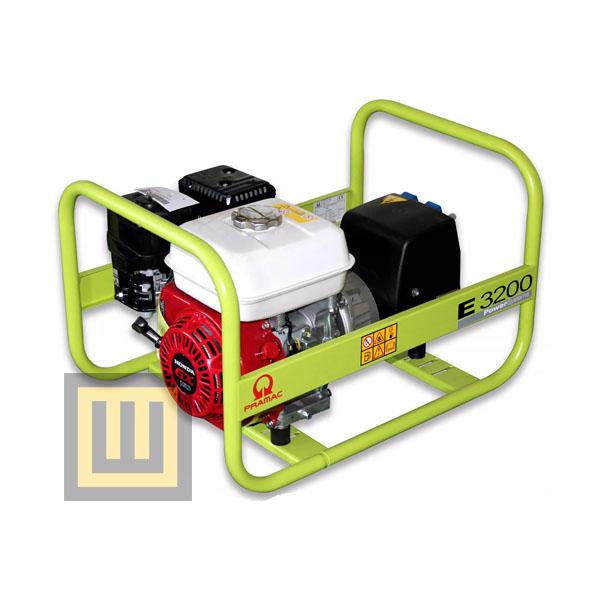 Agregat prądotwórczy PRAMAC E3200 - moc 2,4  kW