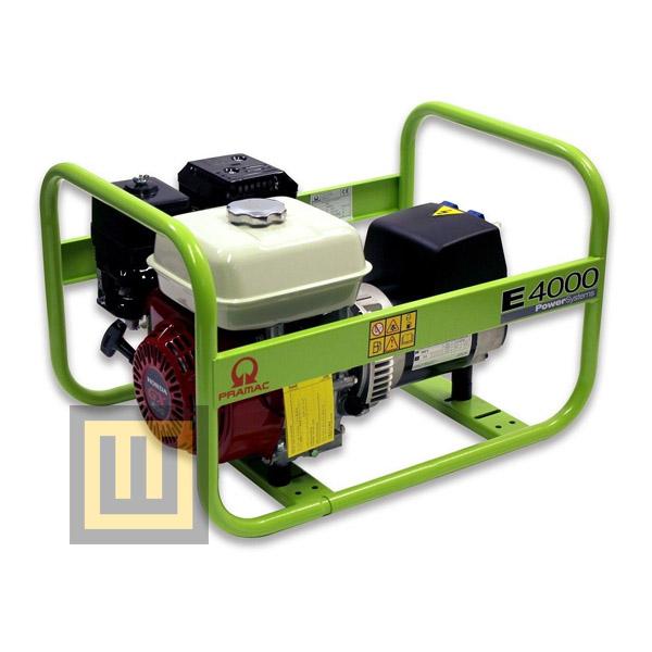 Agregat prądotwórczy PRAMAC E4000 - moc 3,1kW