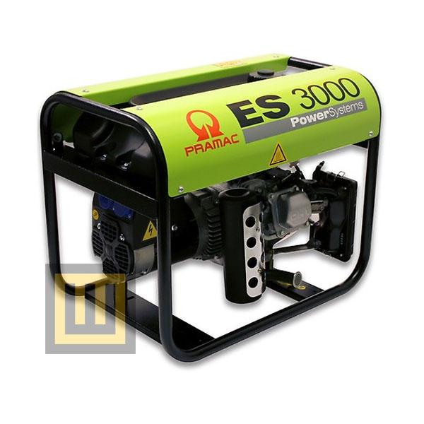 Agregat prądotwórczy PRAMAC ES3000 AVR- moc 2,5 kW