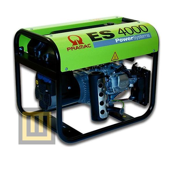Agregat prądotwórczy PRAMAC ES 4000 AVR- moc 2,9 kW