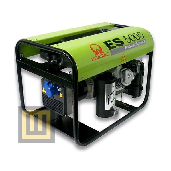 Agregat prądotwórczy PRAMAC ES5000 AVR - moc 4,6 kW