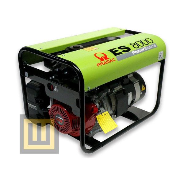 Agregat prądotwórczy PRAMAC ES8000 AVR- moc 8,3 kVA 3~/4,0 kVA 1~
