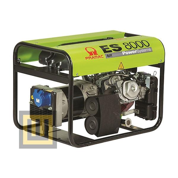 Agregat prądotwórczy PRAMAC ES8000 AVR- moc 6,4 kW