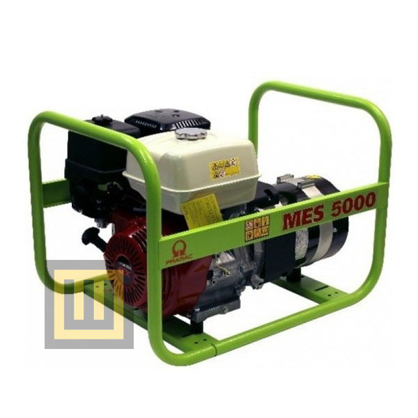 Agregat prądotwórczy PRAMAC MES5000 - moc 6,3 kVA 3~/3,8 kVA 1~