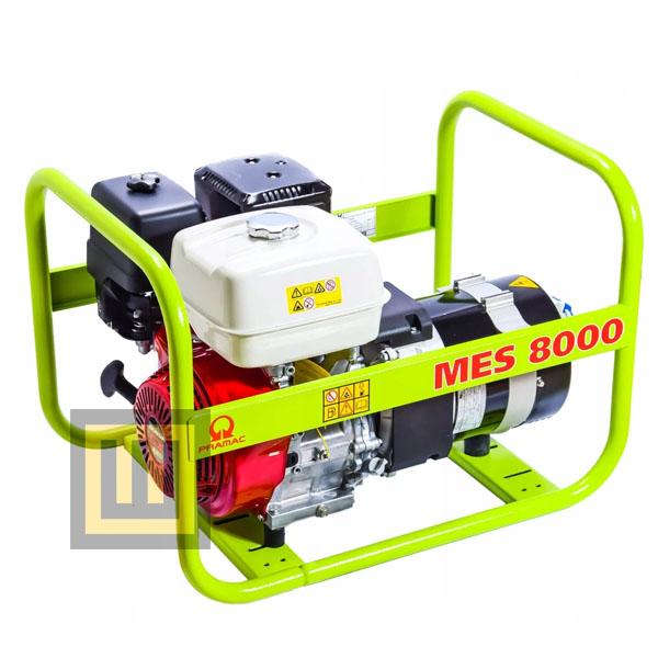 Agregat prądotwórczy PRAMAC MES 8000 - moc  6,4kW