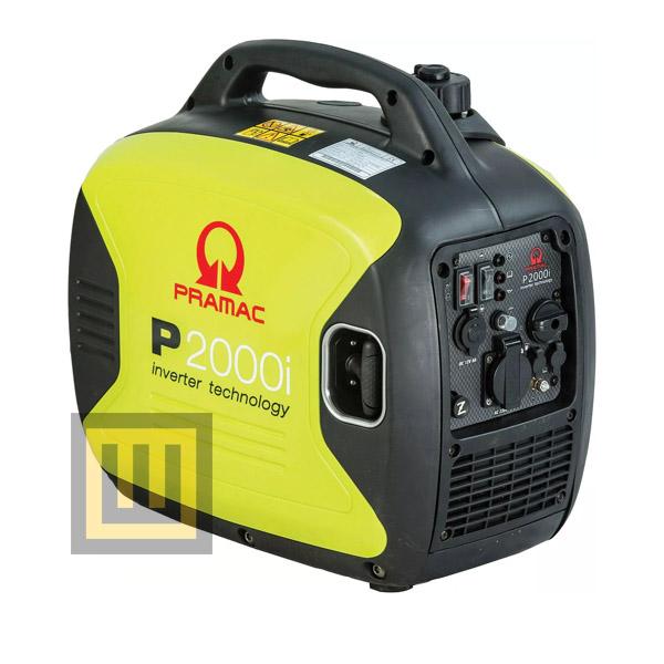 Agregat prądotwórczy PRAMAC P2000i - moc znamionowa 2 kW