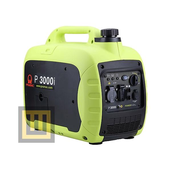 Agregat prądotwórczy PRAMAC P3000i - moc znamionowa 2,5 kW
