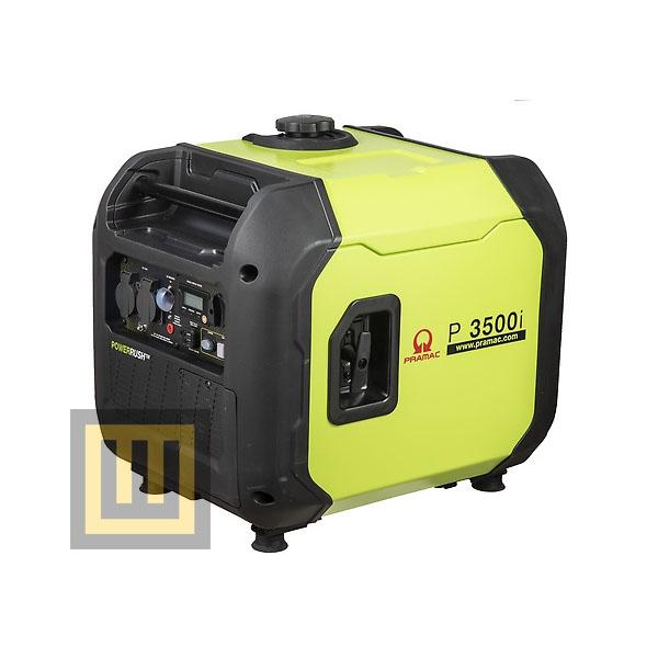 Agregat prądotwórczy PRAMAC P3500i - moc znamionowa 3,3 kW
