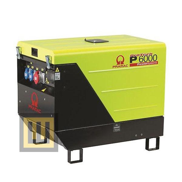 Agregat prądotwórczy PRAMAC P 6000 IPP - moc  5,3kW DIESEL