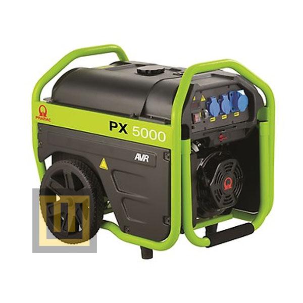 Agregat prądotwórczy PRAMAC PX5000 AVR- moc 3,6 kW