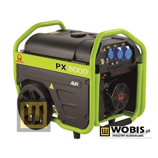 Agregat prądotwórczy PRAMAC PX8000 AVR- moc 5,4 kW
