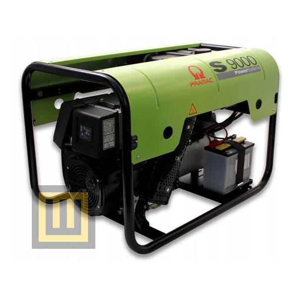 Agregat prądotwórczy PRAMAC S 9000 -  moc 10,3 kVA 3~/6,8 kVA 1~ DIESEL