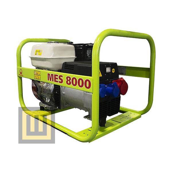 Agregat prądotwórczy PRAMAC MES8000 - moc  6,4kW AVR