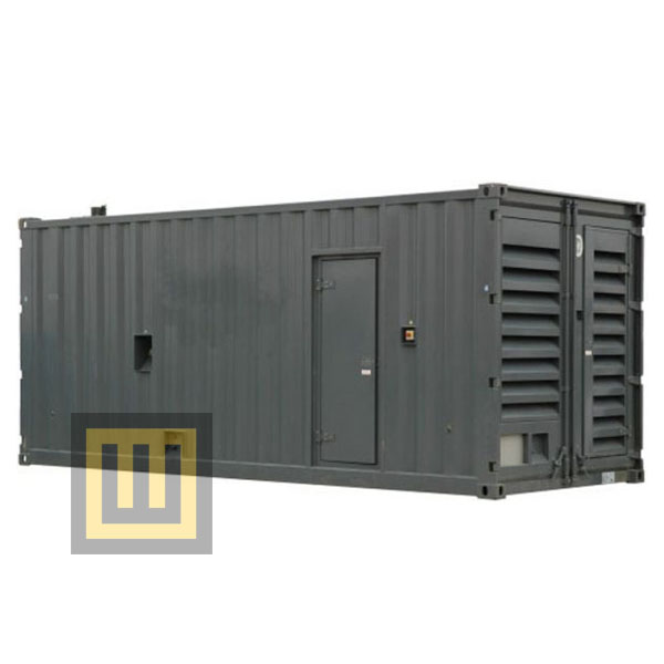 Agregaty stacjonarne w kontenerze