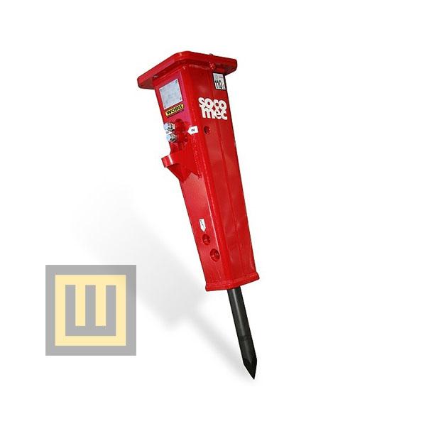 Młoty hydrauliczne DMS 50 SOCOMEC