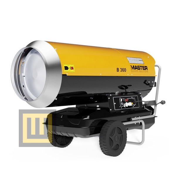 Nagrzewnica olejowa MASTER B 360 moc 111 kW