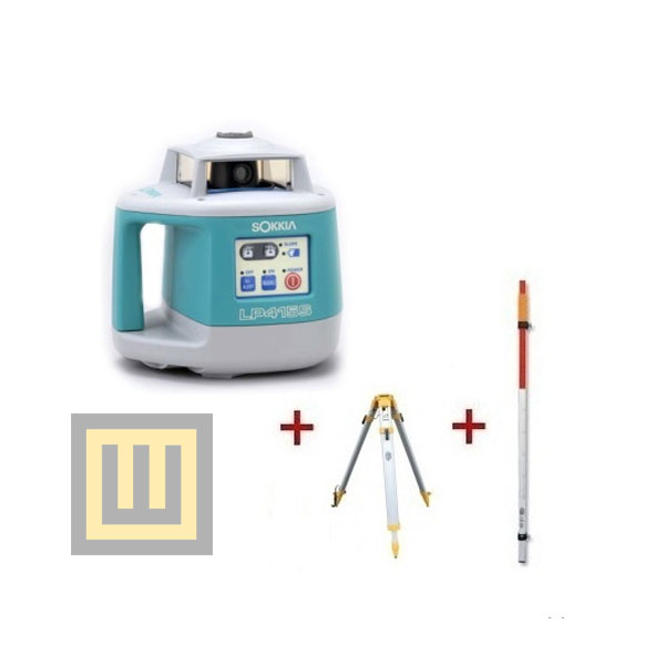 Niwelator laserowy Sokkia LP 415S + statyw SJJ1 + łata LS24