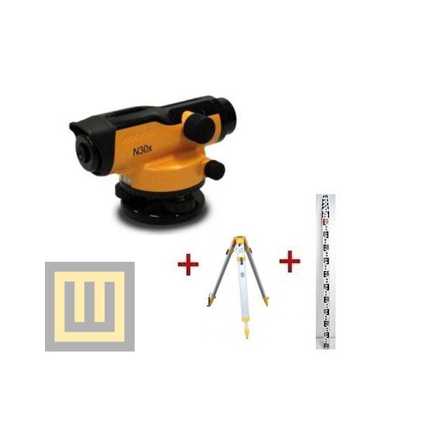 Niwelator optyczny Nivel System N32x + statyw SJJ1D + łata 5m