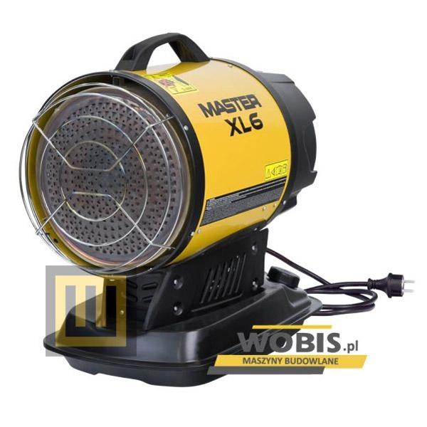 Olejowy promiennik podczerwieni MASTER XL 61 moc 17 kW