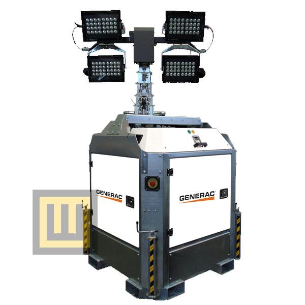 Wieża oświetleniowa GENERAC CUBE+ Hybrid ( PRAMAC )